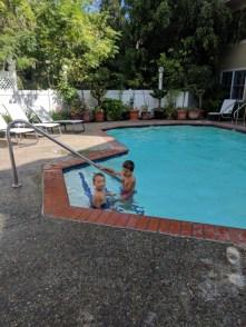 Taylor family at Apple Farm Inn San Luis Obispo 4