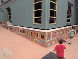 Taylor Family at San Luis Obispo Childrens Museum 1