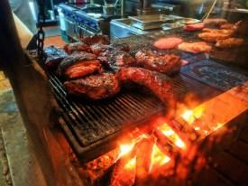 Indoor BBQ at Shaws Steakhouse Santa Maria California 1