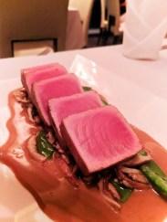 Seared Tuna at Pikayo Condado Plaza Hilton San Juan Puerto Rico 1