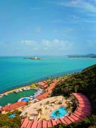View of El Conquistador Resort from balcony Puerto Rico 1