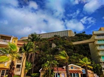 View of El Conquistador Resort from beach Puerto Rico 1