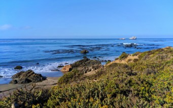 Ocean bluff at Fiscalini Ranch Reserve Cambria California Central Coast 1