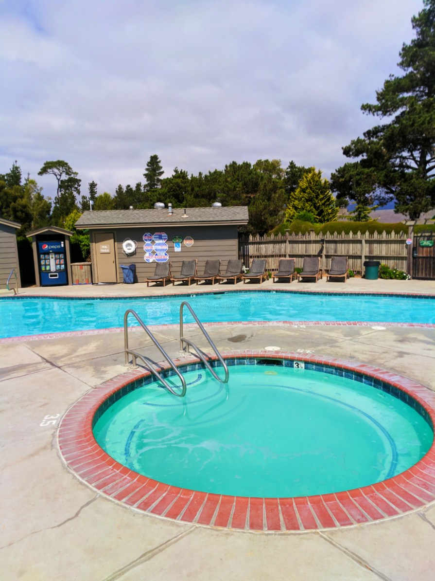 Swimming pool at Cambria Pines Lodge California Central Coast 1