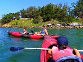 Taylor Family Kayaking in Morro Bay San Luis Obispo 12