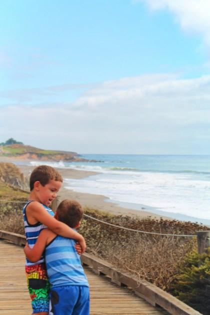 Taylor Family at Moonstone Beach Cambria California Central Coast 8