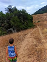 Taylor Family hiking to lemon grove at Cerro San Luis Obispo 6
