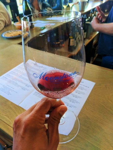 Wine tasting at Moonstone Cellars West Village Cambria Central Coast 1