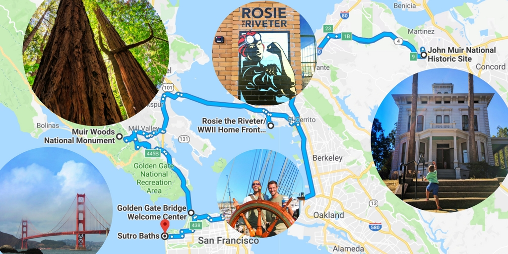 5 awesome San Francisco Bay Area National Parks sites with kids