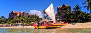 Disney's Aulani on the Hawaiian island of Oahu is a family resort full of fun, food, and the spirit of aloha. 2traveldads.com
