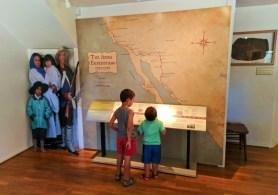 Taylor Family in De Anza Pueblo at John Muir National Historic Site Martinez East Bay 1