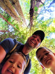 Taylor family in Muir Woods National Monument 4