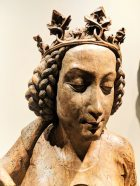 Medieval Carved Virgin Mary at Art Institute of Chicago 2