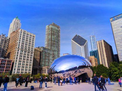 The Bean Millennium Park Magnificent Mile Downtown Chicago 3