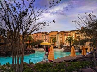 Beach Pool at Loews Portofino Resort Universal Orlando 1