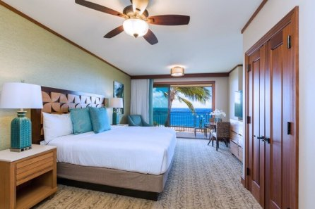 Koloa Landing Resort Kauai with kids Studio-Ocean-View-Main