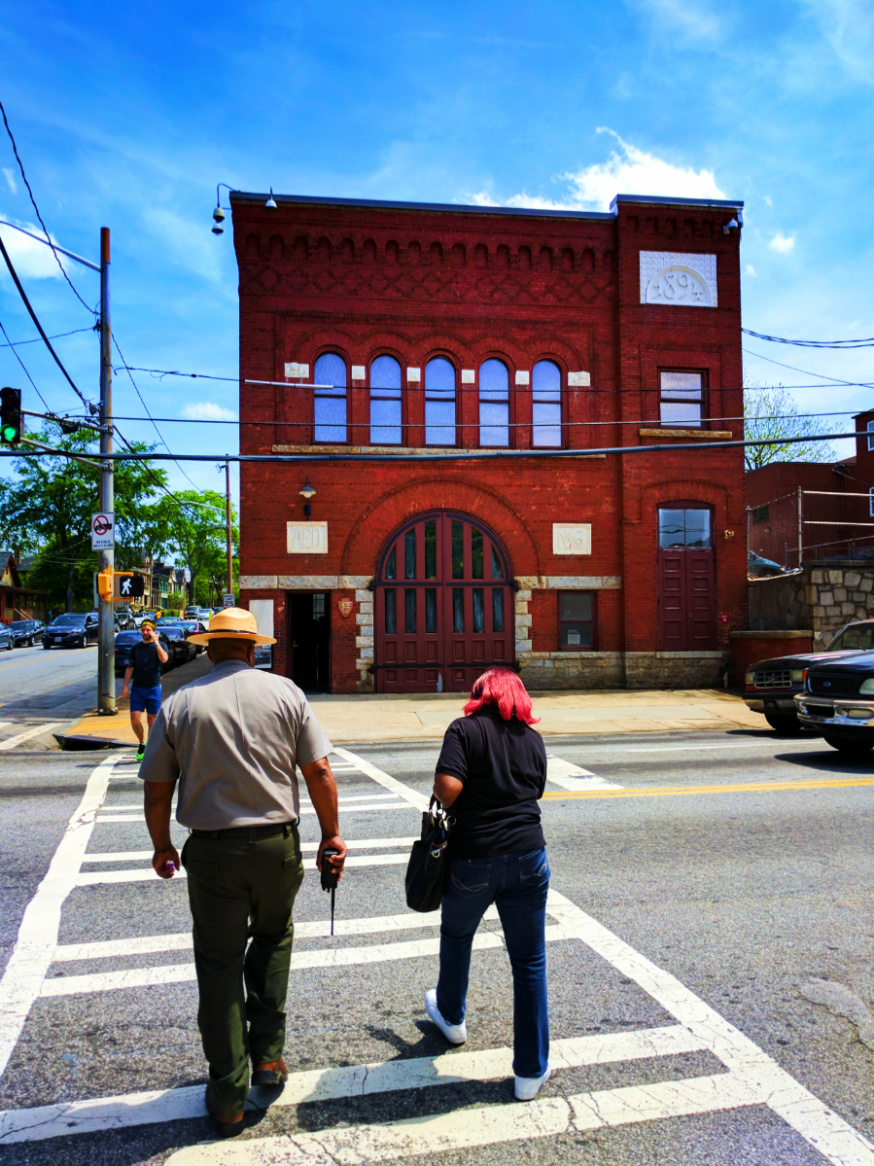 Old Firehouse at Martin Luther King Jr National Historic Site Atlanta 2