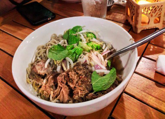 Saimin noodles Hawaiian Cuisine