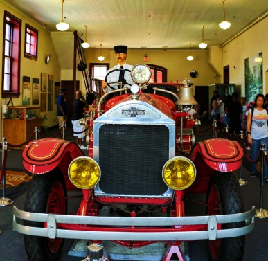 Vintage Firetruck at Old Firehouse at Martin Luther King Jr National Historic Site Atlanta 1