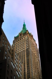 Copper Roof at Exchange Building Wall Street NYC 1