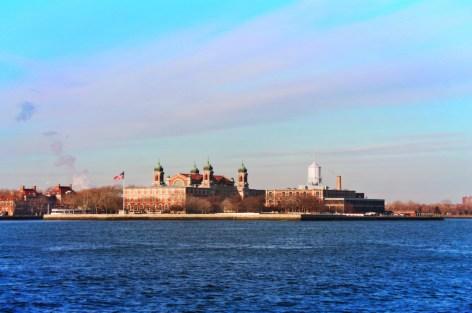 Ellis Island from Liberty Cruises Ship New York City 2