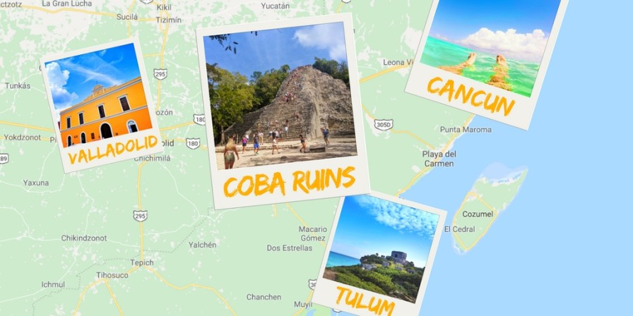 The Coba Ruins offer some of the best Mayan ruins on the Yucatan and are off the beaten path enough to feel unique and secluded. How to visit Coba Ruins on a Yucatan road trip. 2traveldads.com