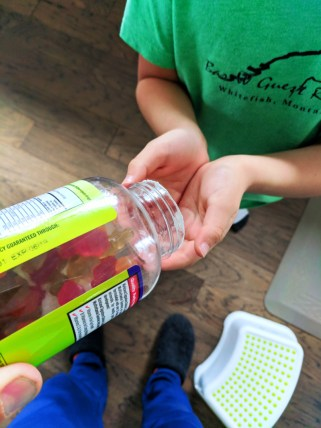 Safe storage of travel products child safe containers 2b