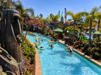 Lazy River at Universal Volcano Bay Water Theme Park Orlando 1