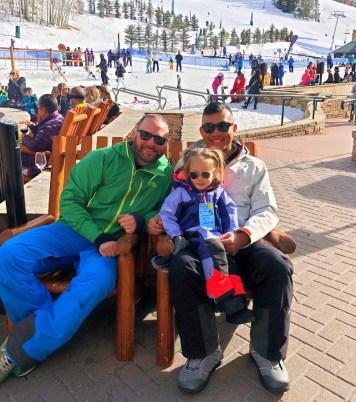 Rich SkiLikeADad family pic in Vail Colorado 2018 3