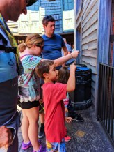 Taylor Family casting spells Harry Potter Universal Studios Florida 1