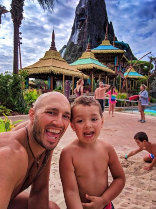 Taylor Family at Universal Volcano Bay Water Theme Park Orlando 3