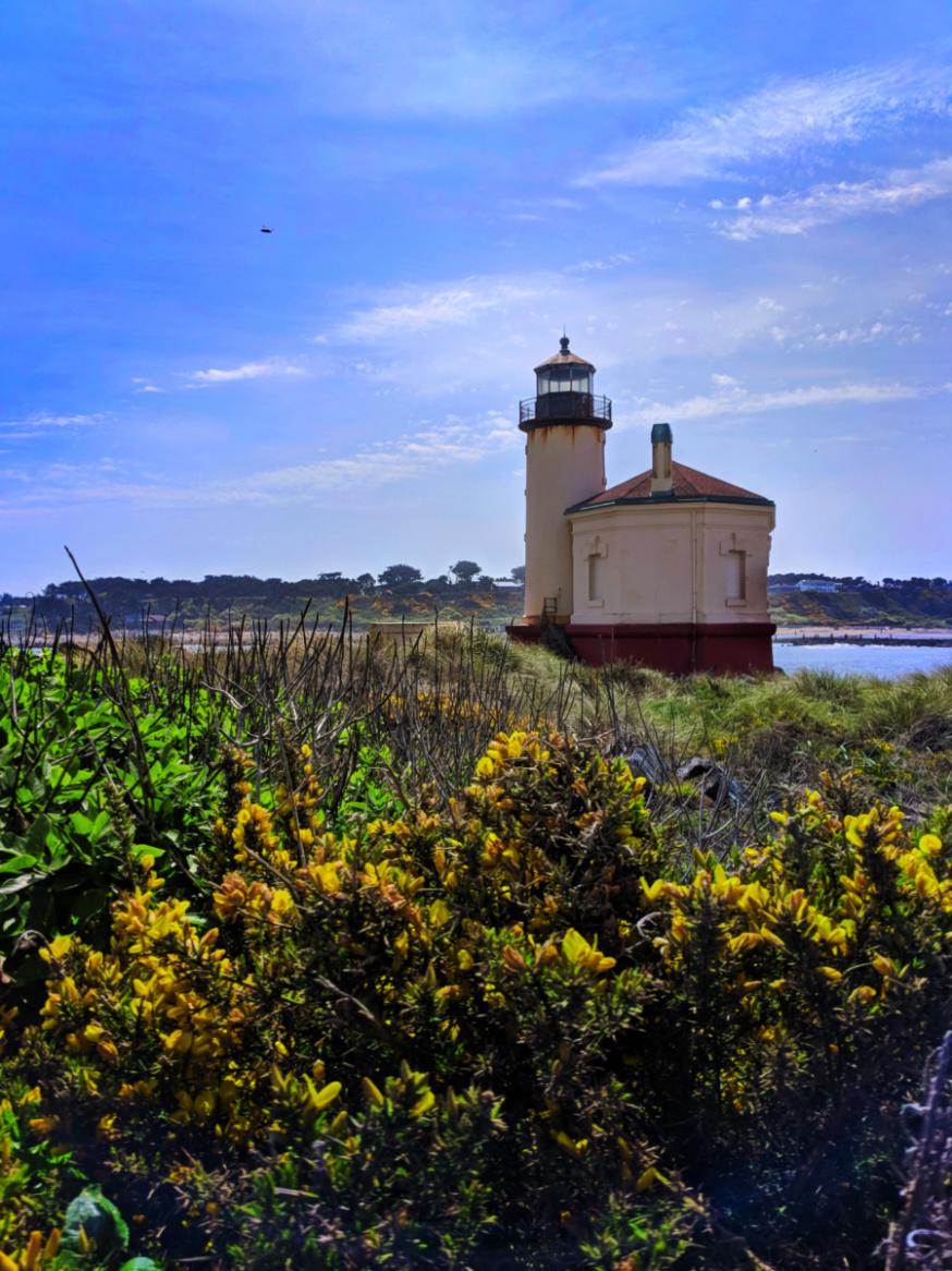 Coquille River Lighthouse Bandon Oregon Coast 7