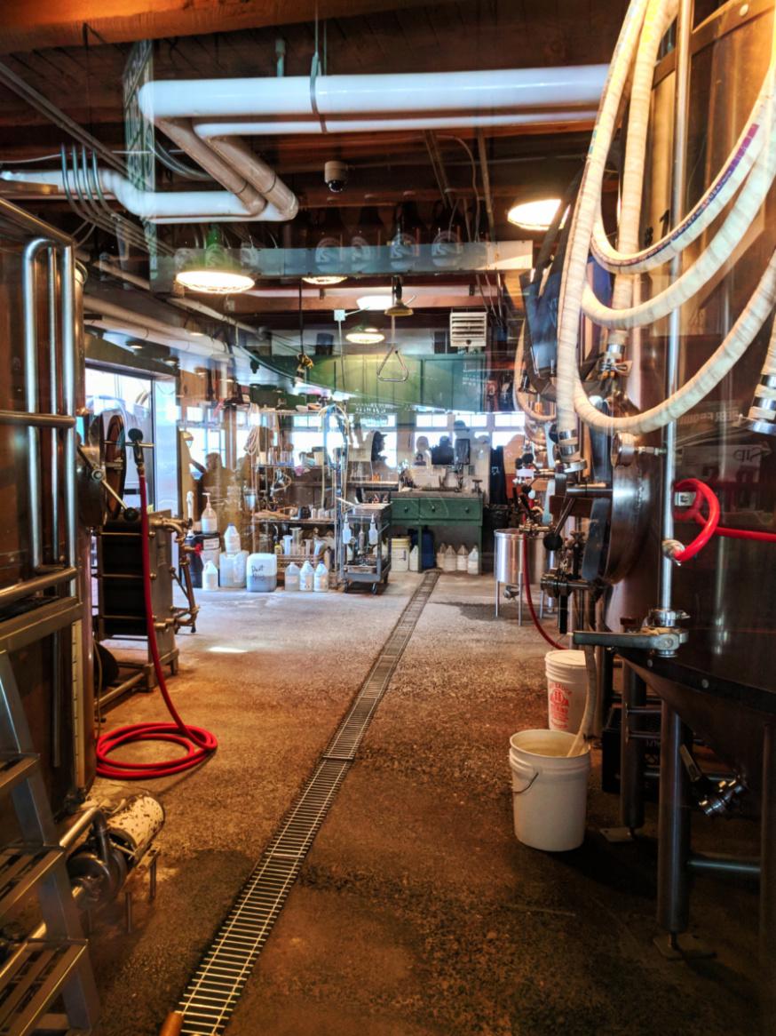 Inside Pelican Brewing Co Pacific City Oregon Coast 2