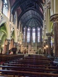 Inside of Saints Peter and Paul's Church of Cork