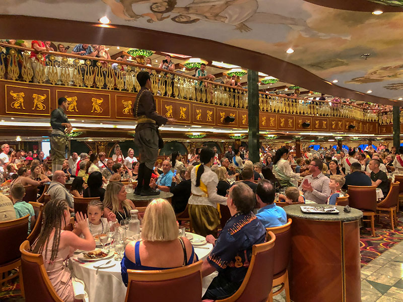 Carnival spirit Empire Dining room