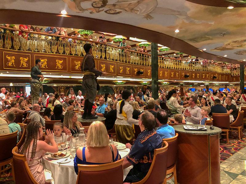 Carnival spirit Empire Dining room