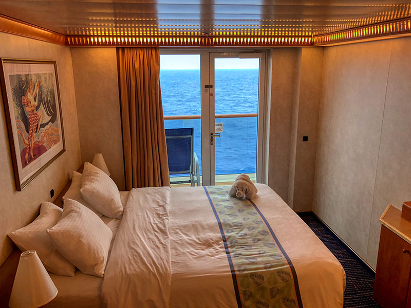 Carnival Spirit balcony room
