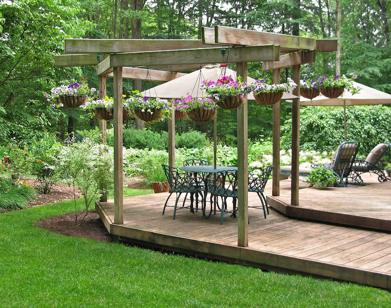 Garden Decking Ideas Acacia Gardens