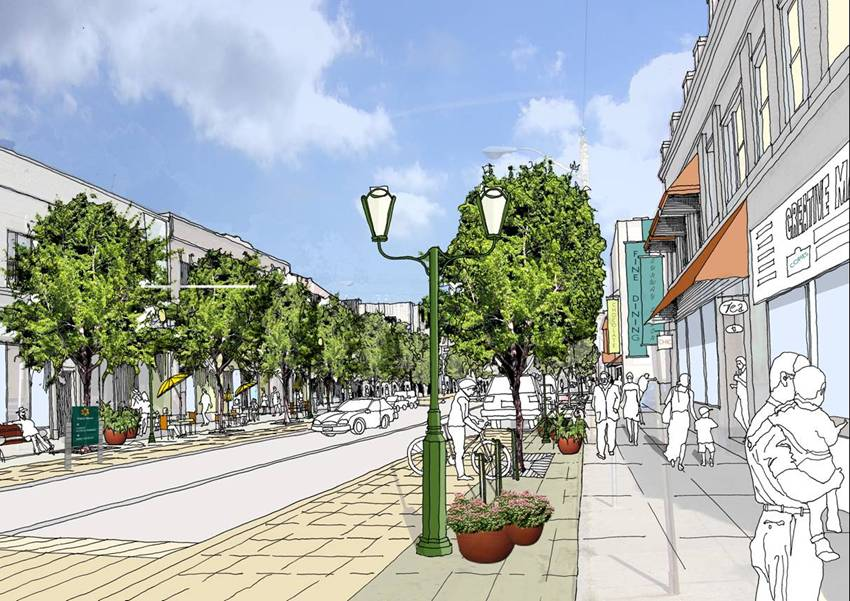 Desain Kawasan Pusat Kota Serang  duatitik