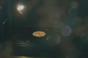 Bokeh record player
