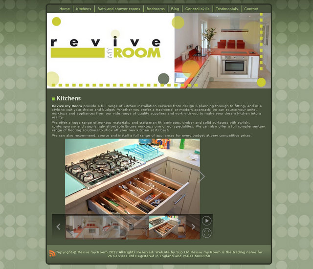 Revive my Room website