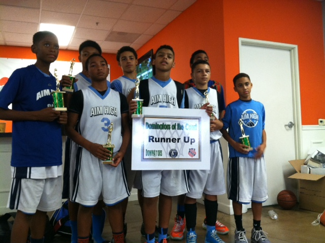 Aim High finishes 2nd at Dominators of the Court Tourney in Anaheim, CA on November 17, 2013 (photo: Urban Girl Media)