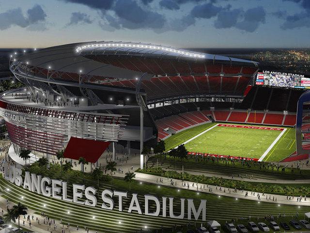 Proposed Los Angeles Stadium in Carson, CA.