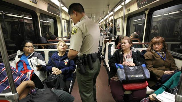 L.A. County Sheriff's Department not meeting Metro policing goals.
