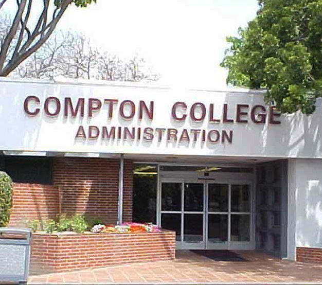 Compton College Administration Building