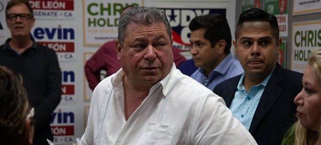 CA Dem Party Chair Eric Bauman