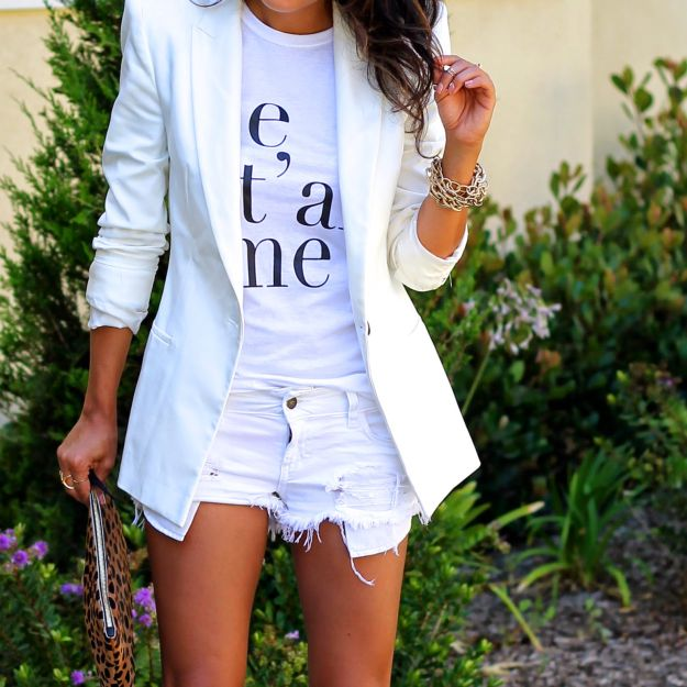white out shirt OOTD