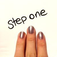 Easy New Years Nails Using Kiss Gradation Ombre Glitter Kit