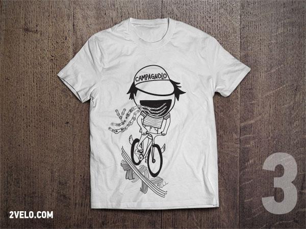 T-Shirt 2velo 3