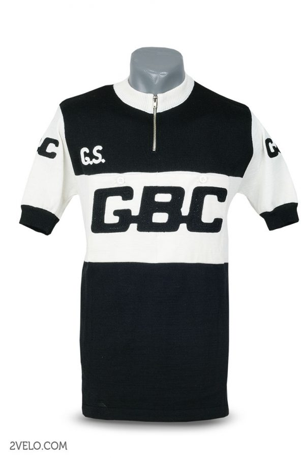 Wool cycling jersey – 2velo- GBC front